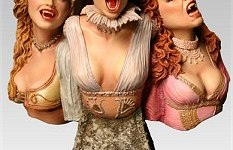 Dracula's Brides bust