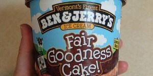 Fair Goodness Cake Ice Cream Review