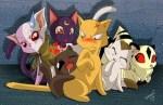 10 Anime and Manga Felines
