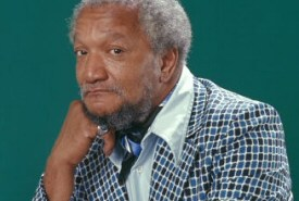 Redd Foxx, thoughtful