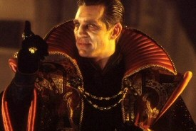 Eric Roberts as Doctor Strange, no, The Mandarin, no The Master from Doctor Who the TV Movie