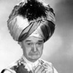 Stan Laurel in turban