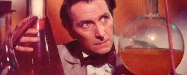 Peter Cushing from Curse of Frankenstein