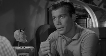 William Shatner from The Twilight Zone: Nick of Time