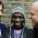 Etienne Tron, Esau Mwamwaya and Johan Karlberg are The Very Best