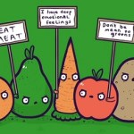 I Hate Vegans by Aaron Jay from Threadless
