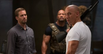 Fast and Furious 6: Paul Walker, Dwayne Johnson and Vin Diesel