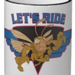 Hopper from Bugs Life: Lets Ride Coffee Mug