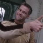 Brad Pitt from 12 Monkeys