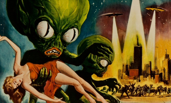 32 Days of Halloween VII, Day 25: Invasion of the Saucer Men!
