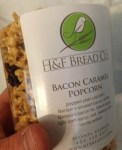 Bacon Caramel Popcorn by H & F Bread Company - Review