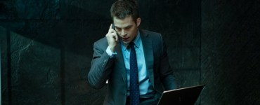 Chris Pine as Jack Ryan in Jack Ryan: Shadow Recruit