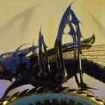 Chronophage Grasshopper Clock