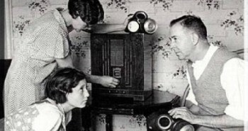 Gathered Round the Radio