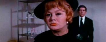 Shelley Winters and Jonathan Frid from The Devils Daughter (1973)