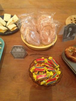 The Beehive: Honey buns and Bit-o-Honey candy