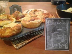 The Hole in the Wall: mini toad-in-the-holes