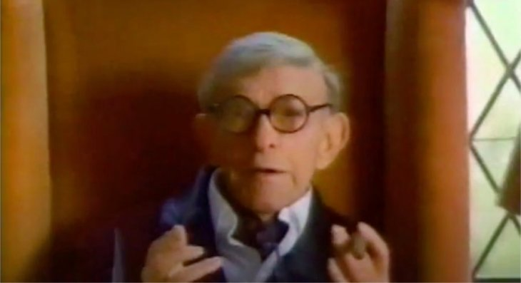 George Burns as Little Caesar
