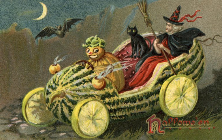 Quick! To the Gourdmobile!