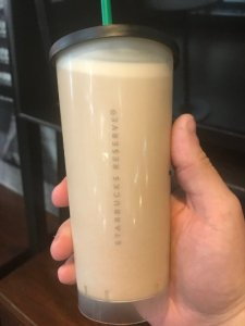 Very first Nitro Cold Brew with Sweet Cream, New York City, 2017