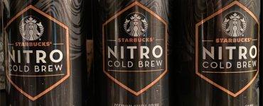 Starbucks Nitro Cold Brew Cans