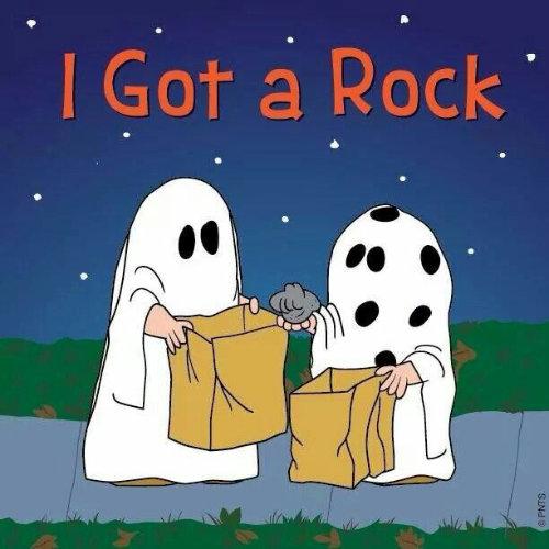 Charlie Brown: I Got a Rock