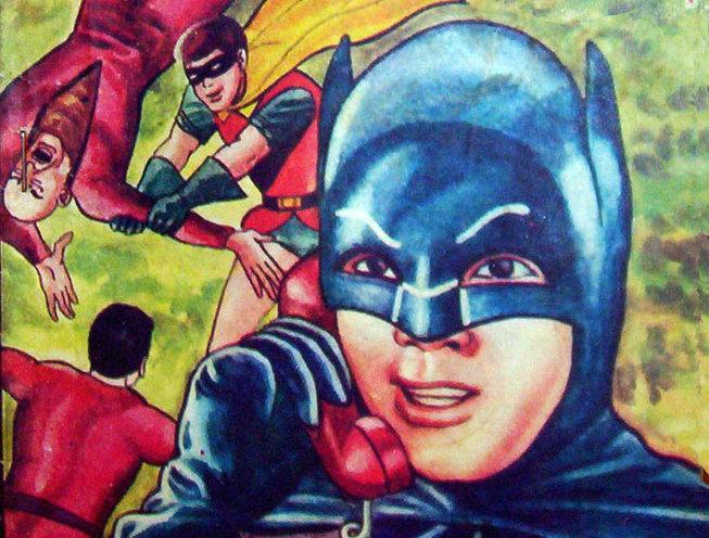 Vietnamese bootleg Batman comic