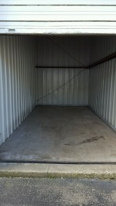 defaulted storage unit cleaned out after a storage auction
