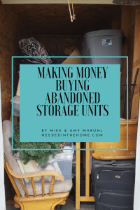 Get the e-book, Making Money Buying Abandoned Storage Units by Mike and Amy Marohl on Etsy