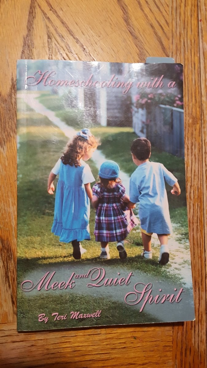 book about homeschooling with children on the cover meek quiet spirit