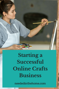 Starting a Successful Online Crafts Business