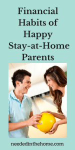Financial Habits of Happy Stay-at-Home Parents