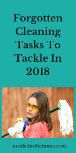 Forgotten Cleaning Tasks To Tackle In 2018