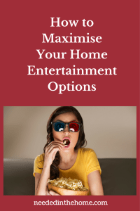 Who Needs to Go Out? How to Maximise Your Home Entertainment Options