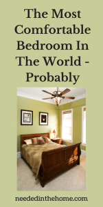 The Most Comfortable Bedroom In The World – Probably