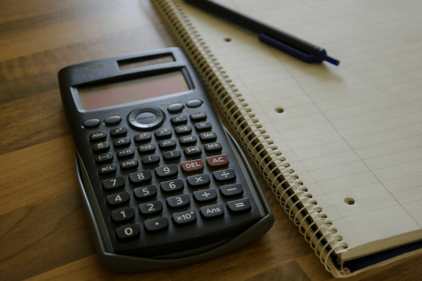 calculator pen paper Financial Habits of Happy Stay-at-Home Parents