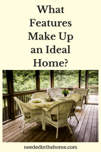 What Features Make Up an Ideal Home?