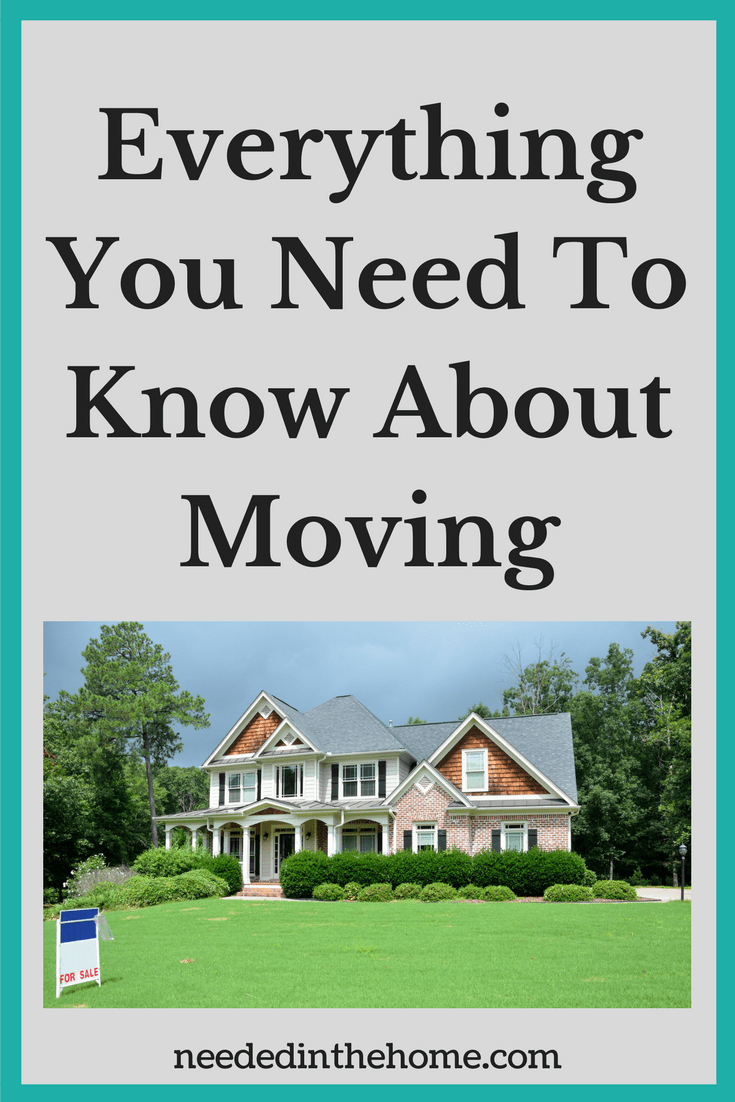 Moving Advice Everything You Need To Know About Moving two story house with for sale sign in grass trees neededinthehome.com