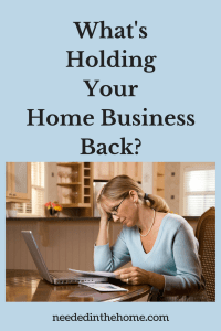 What's Holding Your Home Business Back?