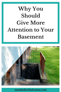 Why You Should Pay More Attention to Your Basement