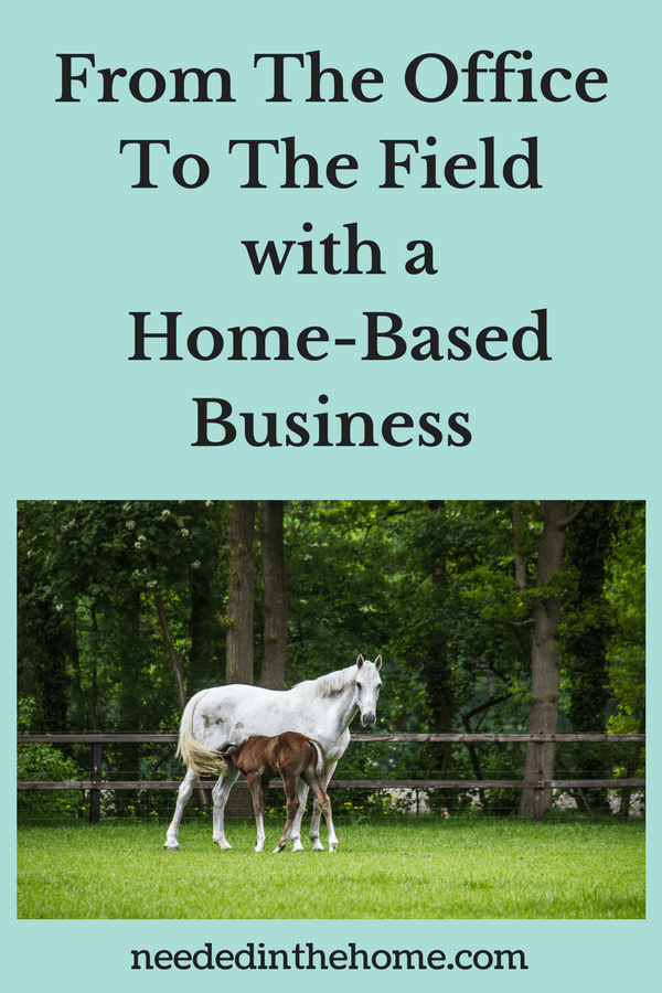 from the office to the field an old school route to a home business