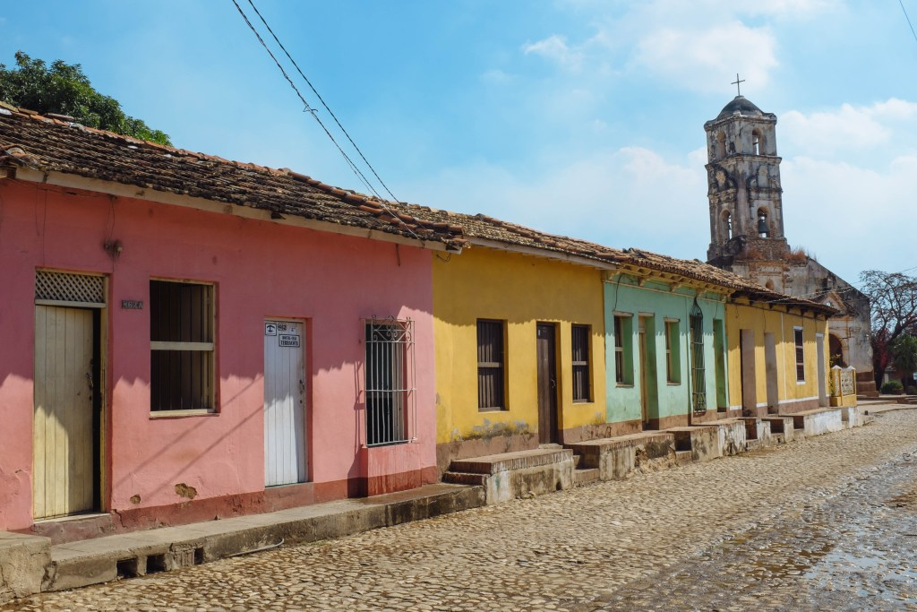 Trinidad's Brightly Colored Homes