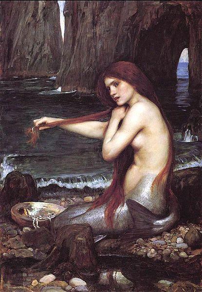 415px-John_William_Waterhouse_-_Mermaid