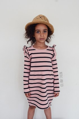 Cocoon dress_Nosh fabric3