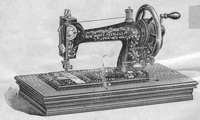 White Sewing Machine Cleveland Ohio