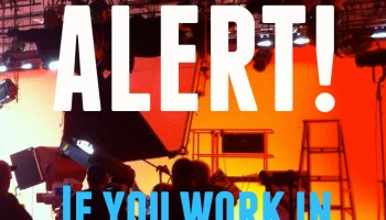 Scam Alert: Production Assistants Needed |