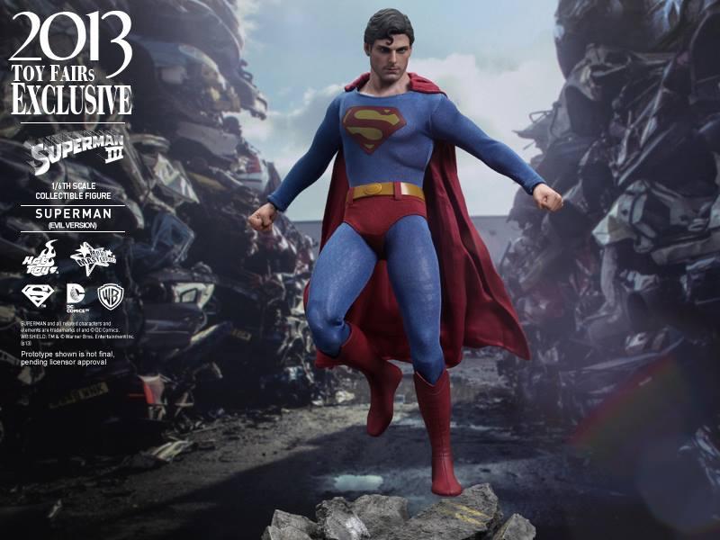 1/6th scale Superman 3 (Evil Version)