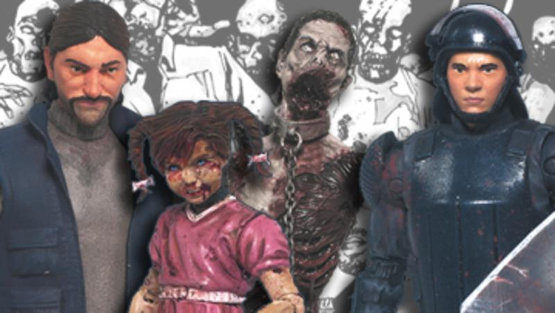 McFarlane Reveals Walking Dead Comic Series 2 In-Package Pics