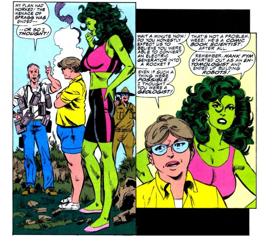 Reviews of Old Comics: Sensational She-Hulk #31