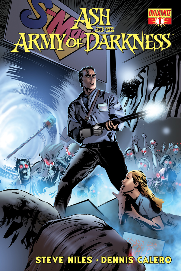 FIRST LOOK OF DYNAMITE'S ASH AND THE ARMY OF DARKNESS #1!